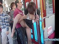 Im bus porno Voyeur bus,